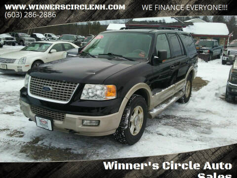 2006 Ford Expedition for sale at Winner's Circle Auto Sales in Tilton NH