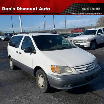 2001 Toyota Sienna for sale at Dan's Discount Auto in Gaston SC