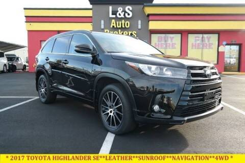 2017 Toyota Highlander for sale at L & S AUTO BROKERS in Fredericksburg VA