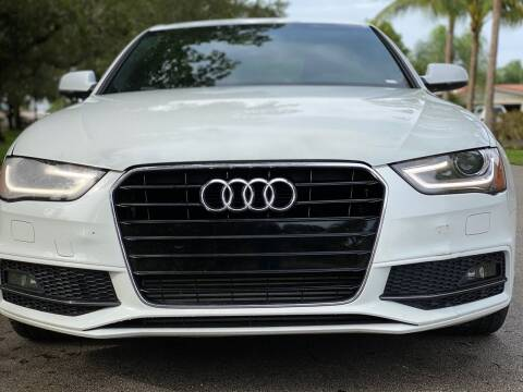 2014 Audi A4 for sale at HIGH PERFORMANCE MOTORS in Hollywood FL