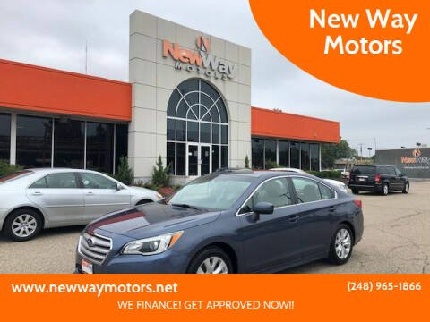 2015 Subaru Legacy for sale at New Way Motors in Ferndale MI