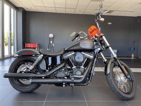 2017 HARLEY DAVIDSON FXDB STREET BOB for sale at EMPIRE LAKEWOOD NISSAN in Lakewood CO