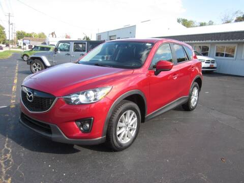 2014 Mazda CX-5 for sale at JANSEN'S AUTO SALES MIDWEST TOPPERS & ACCESSORIES in Effingham IL
