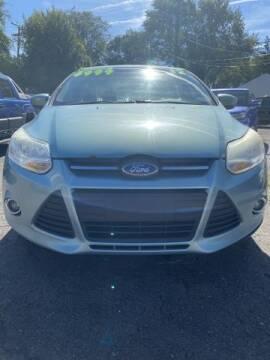 2012 Ford Focus for sale at Mastro Motors in Garden City MI