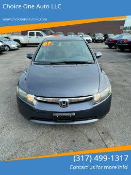 2007 Honda Civic for sale at Choice One Auto LLC in Beech Grove IN