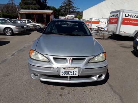 2001 Pontiac Grand Am for sale at Goleta Motors in Goleta CA