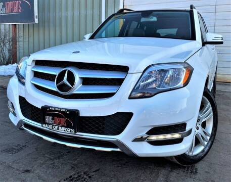2013 Mercedes-Benz GLK for sale at Haus of Imports in Lemont IL