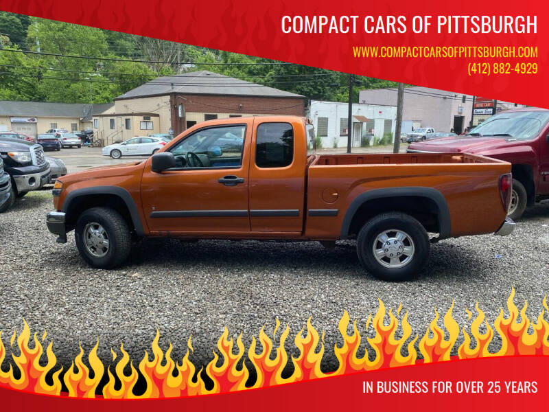 2006 Chevrolet Colorado for sale at Compact Cars of Pittsburgh in Pittsburgh PA