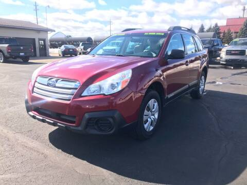 2013 Subaru Outback for sale at Mike's Budget Auto Sales in Cadillac MI