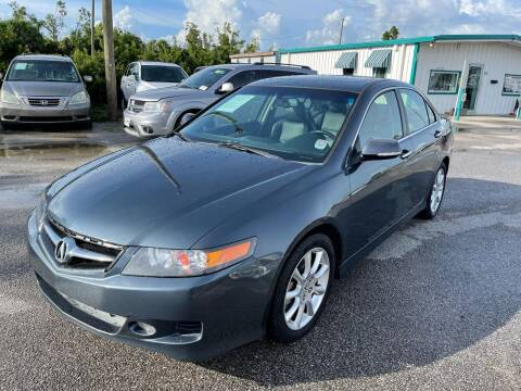 2008 Acura TSX for sale at Jamrock Auto Sales of Panama City in Panama City FL