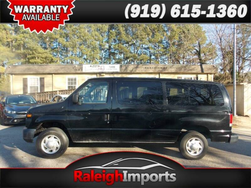 2013 Ford E-Series Wagon for sale at Raleigh Imports in Raleigh NC