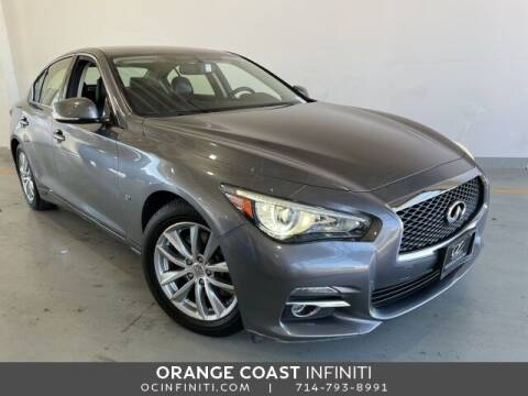 2015 Infiniti Q50 for sale at ORANGE COAST CARS in Westminster CA