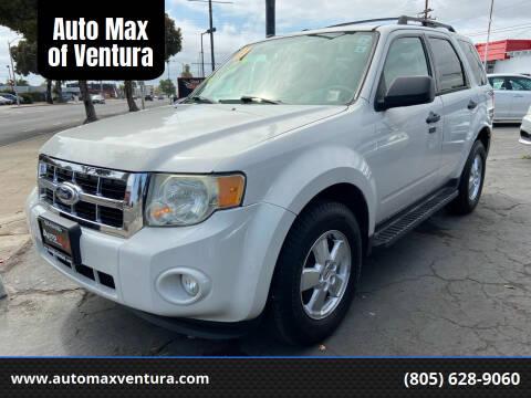 2011 Ford Escape for sale at Auto Max of Ventura in Ventura CA