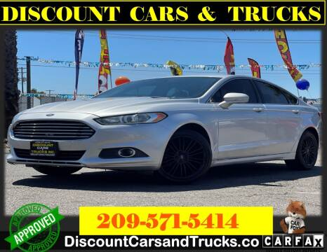 2013 Ford Fusion for sale at Discount Cars & Trucks in Modesto CA
