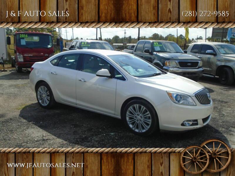 2013 Buick Verano for sale at J & F AUTO SALES in Houston TX