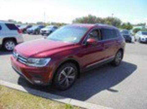 2018 Volkswagen Tiguan for sale at Hickory Used Car Superstore in Hickory NC