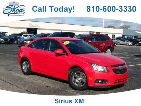 2014 Chevrolet Cruze for sale at Erick's Used Car Factory in Flint MI