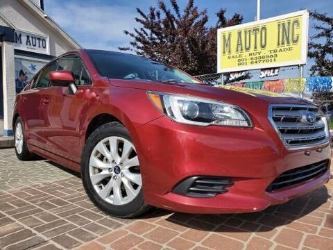 2017 Subaru Legacy for sale at M AUTO, INC in Millcreek UT