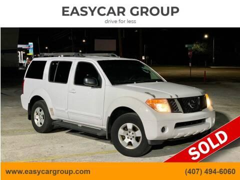 2007 Nissan Pathfinder for sale at EASYCAR GROUP in Orlando FL