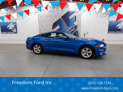 2019 Ford Mustang for sale at Freedom Ford Inc in Gunnison UT