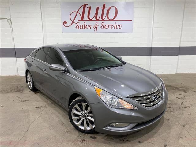 2013 Hyundai Sonata for sale at Auto Sales & Service Wholesale in Indianapolis IN