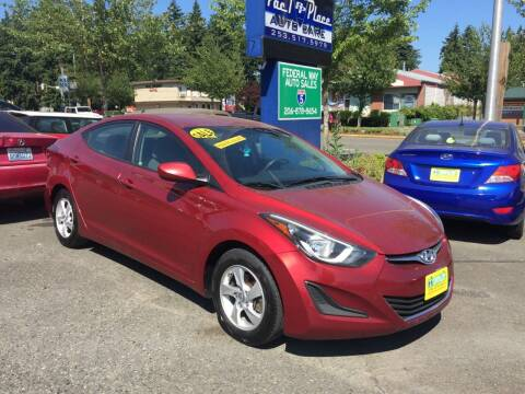 2015 Hyundai Elantra for sale at Federal Way Auto Sales in Federal Way WA