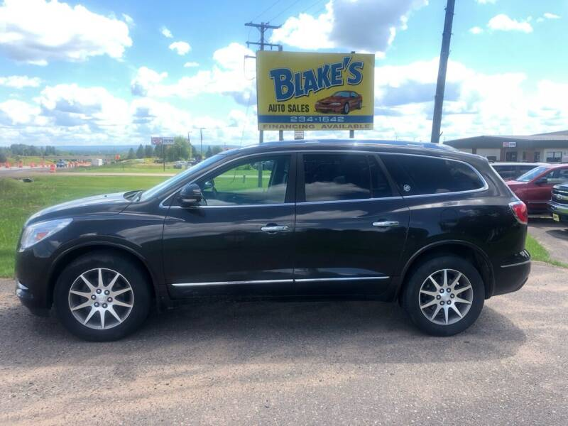 2014 Buick Enclave for sale at Blake's Auto Sales in Rice Lake WI