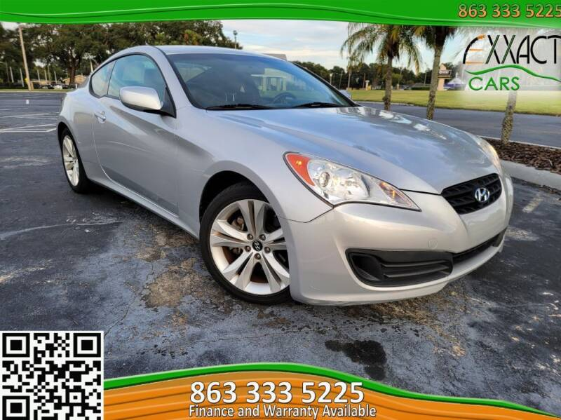 2012 Hyundai Genesis Coupe for sale at Exxact Cars in Lakeland FL