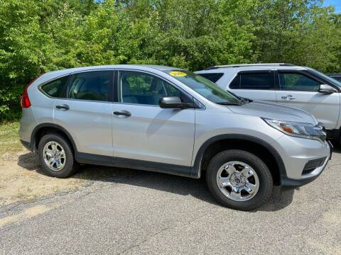 2016 Honda CR-V for sale at Downeast Auto Inc in South Waterboro ME