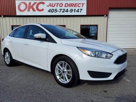 2016 Ford Focus for sale at OKC Auto Direct in Oklahoma City OK