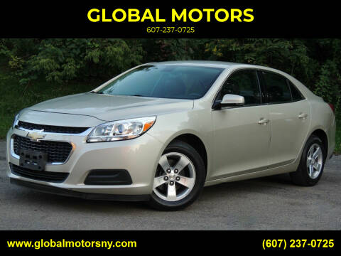 2016 Chevrolet Malibu Limited for sale at GLOBAL MOTORS in Binghamton NY