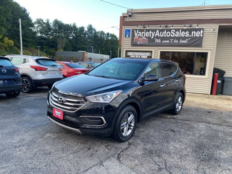 2018 Hyundai Santa Fe Sport for sale at Variety Auto Sales in Worcester MA