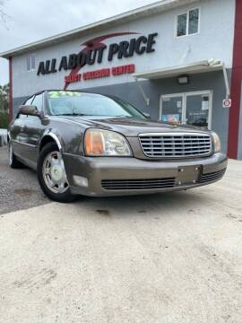 2001 Cadillac DeVille for sale at All About Price in Bunnell FL