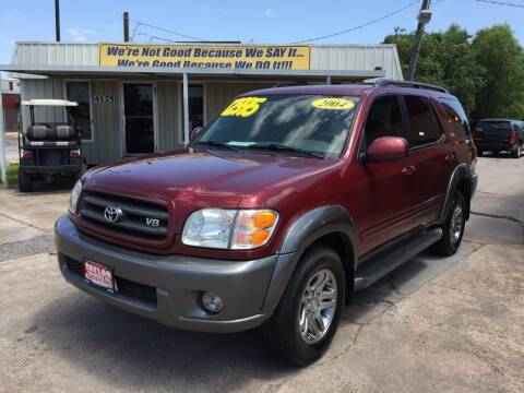 2004 Toyota Sequoia for sale at Taylor Trading Co in Beaumont TX