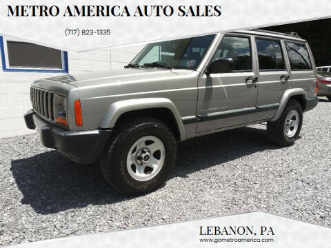 2000 Jeep Cherokee for sale at METRO AMERICA AUTO SALES of Lebanon in Lebanon PA