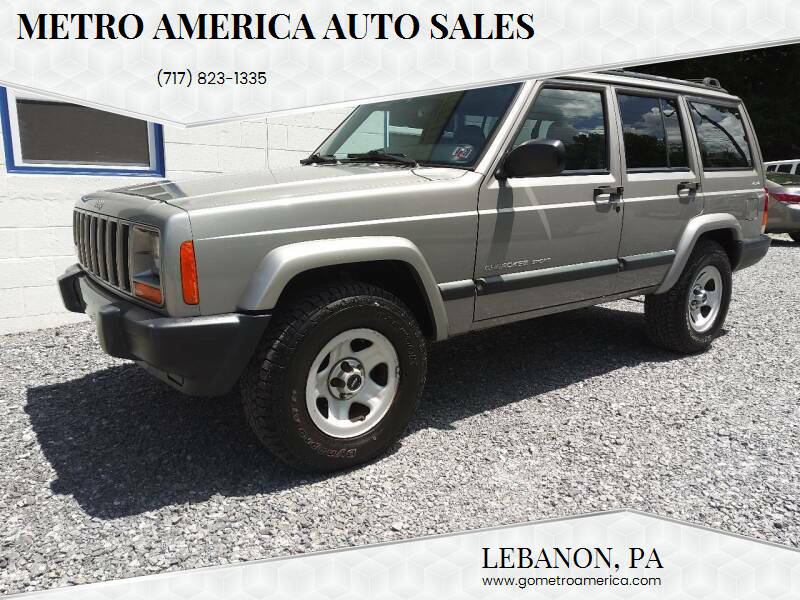 2000 Jeep Cherokee for sale at METRO AMERICA AUTO SALES of Lebanon in Lebanon PA