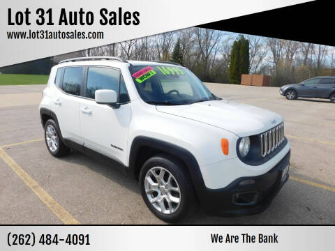 2016 Jeep Renegade for sale at Lot 31 Auto Sales in Kenosha WI