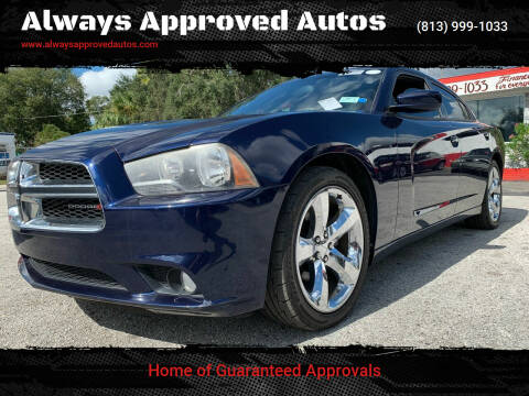 2013 Dodge Charger for sale at Always Approved Autos in Tampa FL