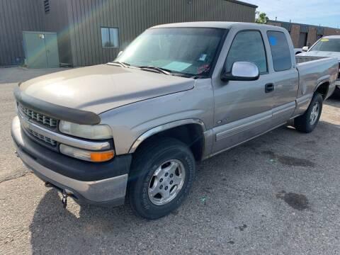 1999 Chevrolet Silverado 1500 for sale at L & J Motors in Mandan ND