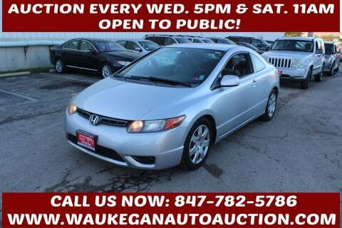 2008 Honda Civic for sale at Waukegan Auto Auction in Waukegan IL