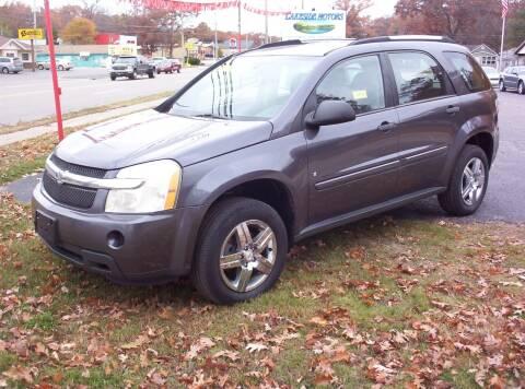 2008 Chevrolet Equinox for sale at LAKESIDE MOTORS LLC in Houghton Lake MI