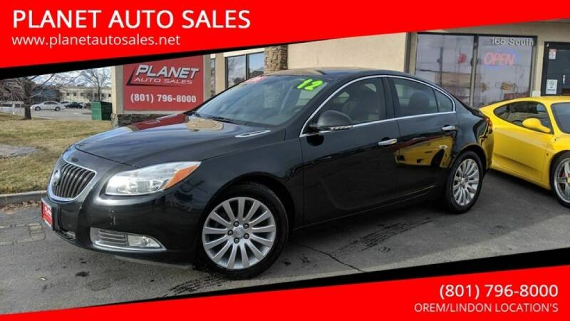 2012 Buick Regal for sale at PLANET AUTO SALES in Lindon UT