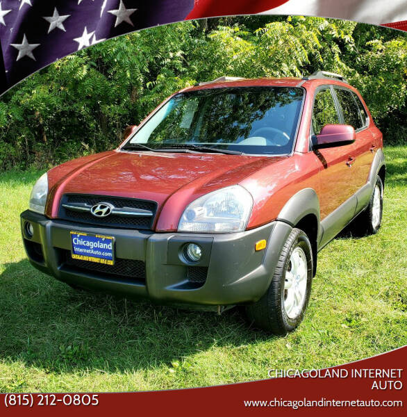 2007 Hyundai Tucson for sale at Chicagoland Internet Auto - 410 N Vine St New Lenox IL, 60451 in New Lenox IL