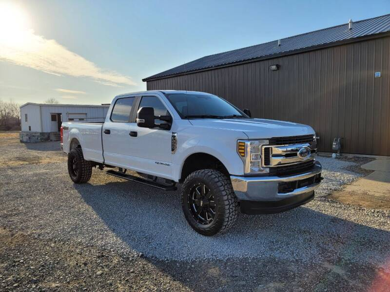 2018 Ford F-250 Super Duty for sale at J & S Auto Sales in Blissfield MI