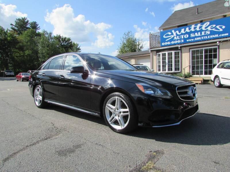 2014 Mercedes-Benz E-Class for sale at Shuttles Auto Sales LLC in Hooksett NH