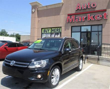 2013 Volkswagen Tiguan for sale at Auto Market in Oklahoma City OK