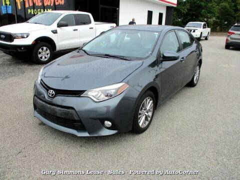 2014 Toyota Corolla for sale at Gary Simmons Lease - Sales in Mckenzie TN