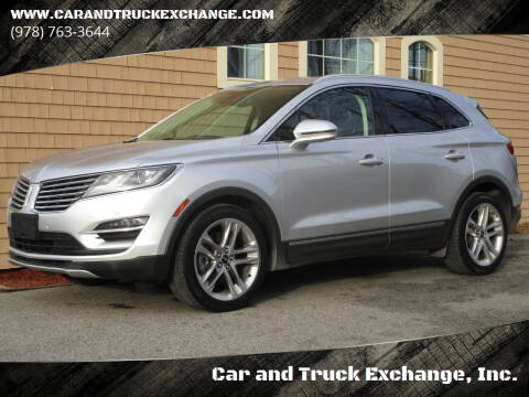 2015 Lincoln MKC for sale at Car and Truck Exchange, Inc. in Rowley MA