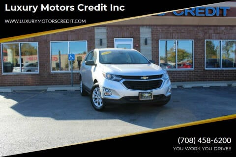 2020 Chevrolet Equinox for sale at Luxury Motors Credit Inc in Bridgeview IL