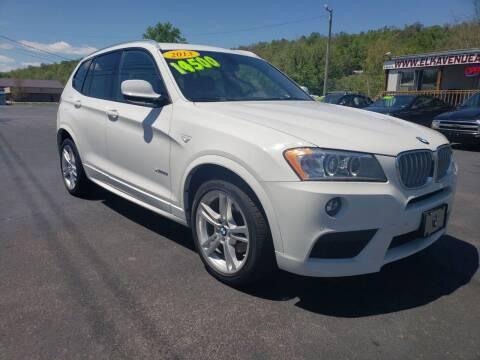 2013 BMW X3 for sale at Elk Avenue Auto Brokers in Elizabethton TN